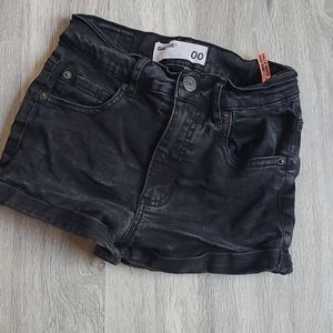 Garage high rise Jean shorts